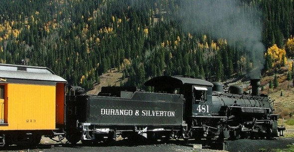 Durango & Silverton Narrow Gauge Railroad train