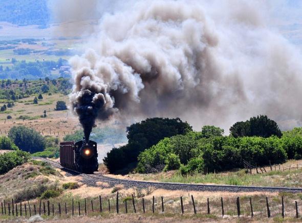 Rio Grande Scenic Railroad in Alamosa