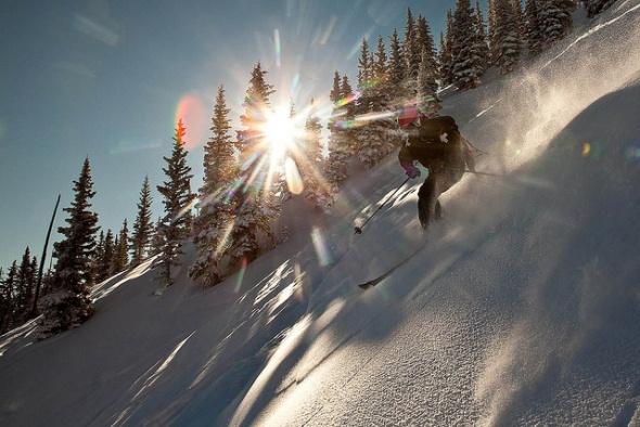 Snowmass Ski Area Colorado