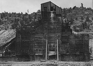 Abandoned gold mill near Idaho Springs