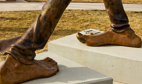 Benson Sculpture Garden in Loveland