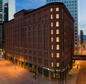 Brown Palace Hotel in downtown Denver