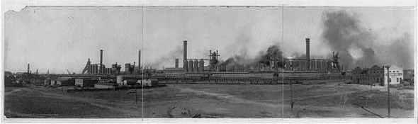 Colorado Fuel and Iron mill in Pueblo