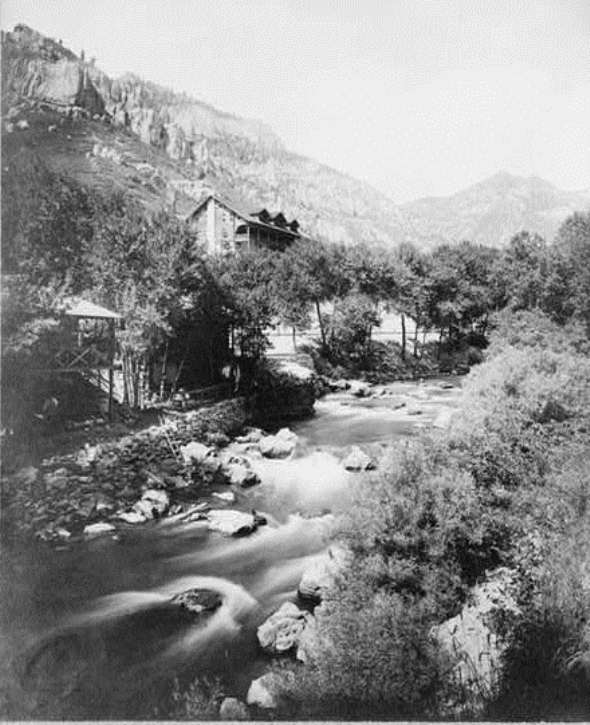 Estes Park photo from early 1900s
