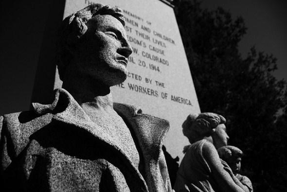 Ludlow Massacre Memorial near Walsenburg