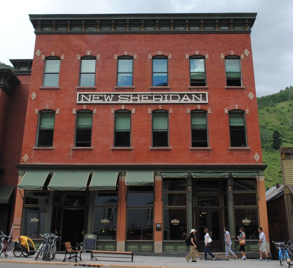 New Sheridan Hotel in Telluride