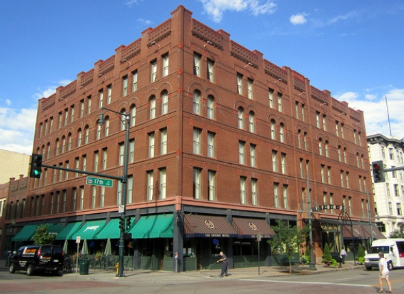 Oxford Hotel in downtown Denver