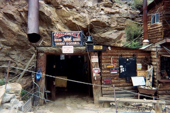 Phoenix Gold Mine near Idaho Springs