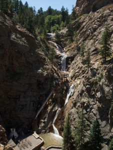 Seven Falls near Colorado Springs