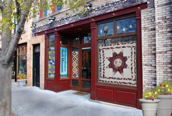 exterior view of the Quilt Museum