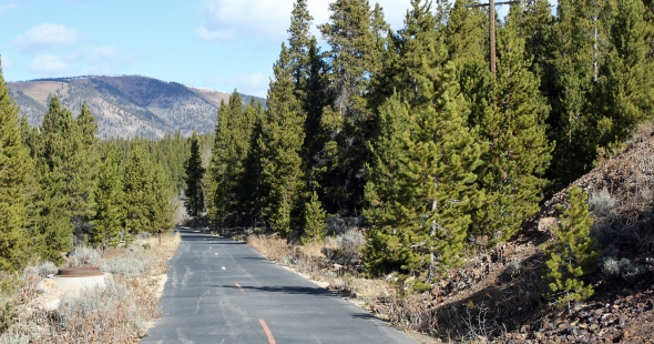 Mineral Belt National Recreation Trail in Leadville