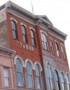 Tabor Opera House Leadville