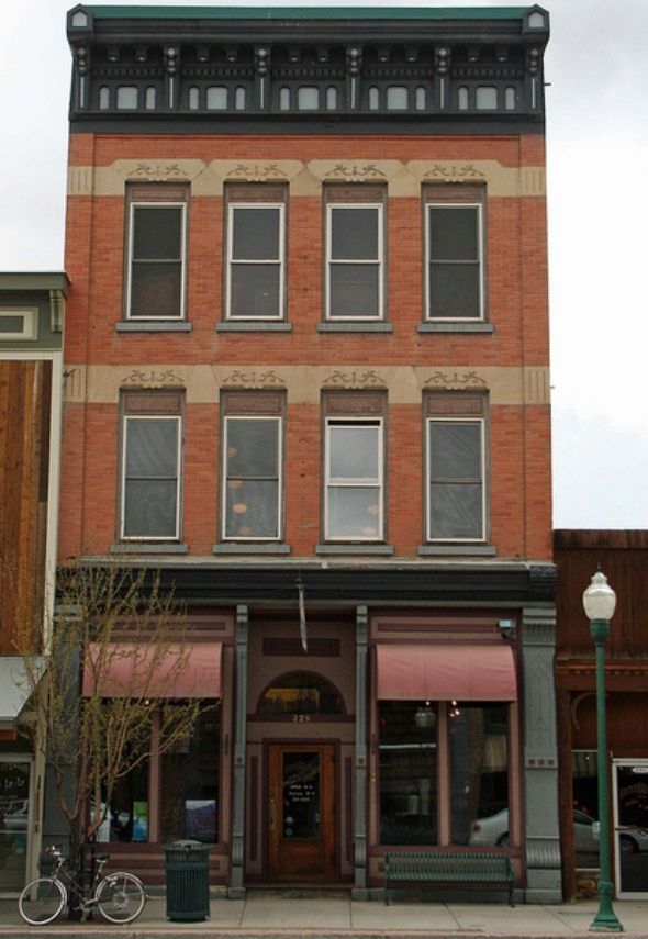Webster Building in Gunnison Colorado