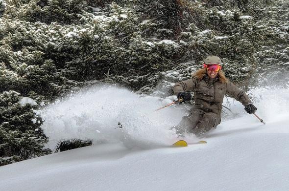 Breckenridge ski area Colorado