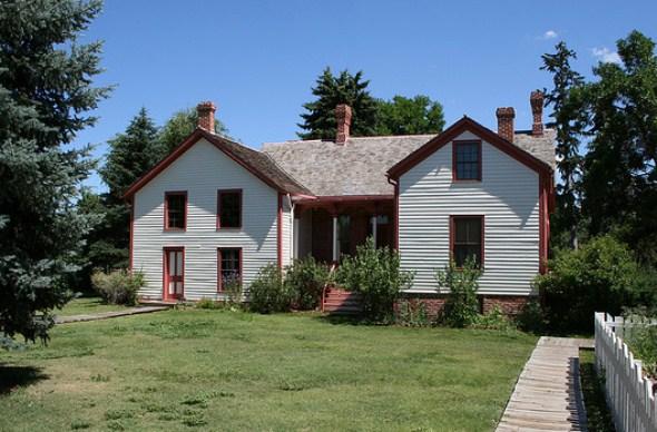 Historic Four Mile House in Denver
