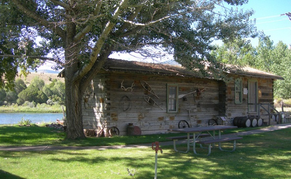 John Jarvie Ranch general store