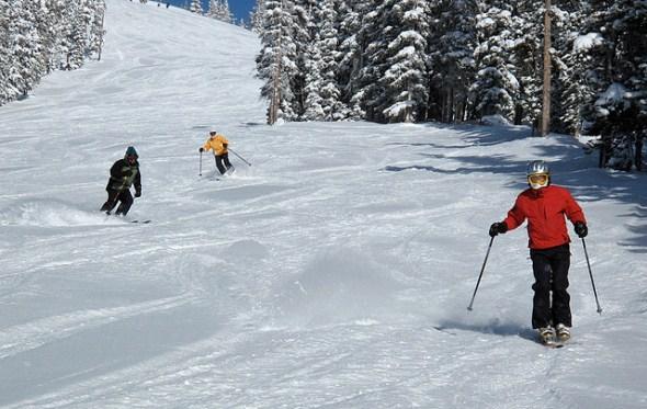 Keystone ski area Colorado