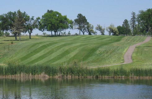 Hole 2at the Quail Dunes Golf Course illustrates why the course won an Audubon Wildlife Sanctuary designation. | City of Ft. Morgan