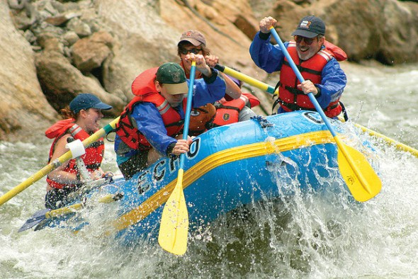 Arkansas River raft trip