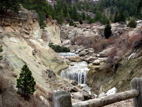 Castlewood Canyon State Park near Castle Rock