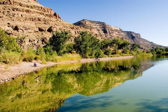 Colorado River State Park near Grand Junction