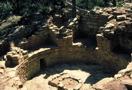 Ruins of an ancient kive