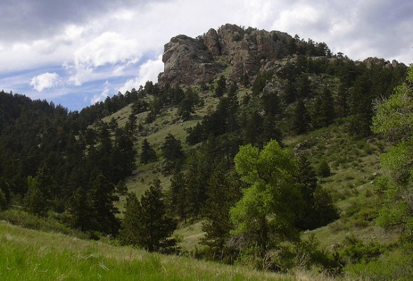 Lory State Park near Fort Collins