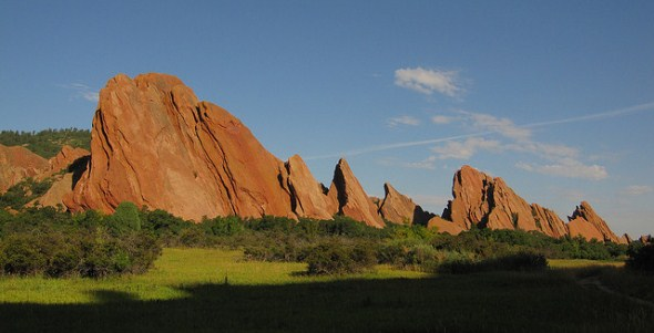 Roxborough State Park near Denver