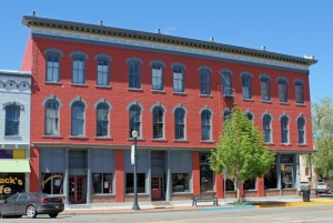 Historic McClure House and Strathmore Hotel in Canon City Colorado