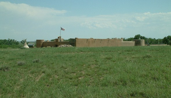 Santa Fe Trail at Bent's Fort