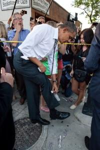 President Obama in Boulder
