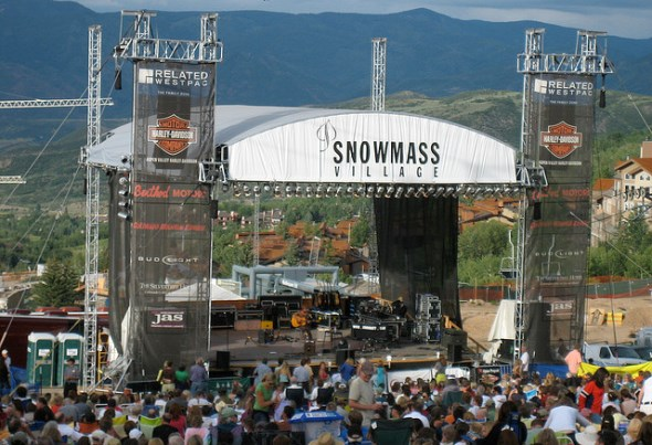 Snowmass free summer concerts